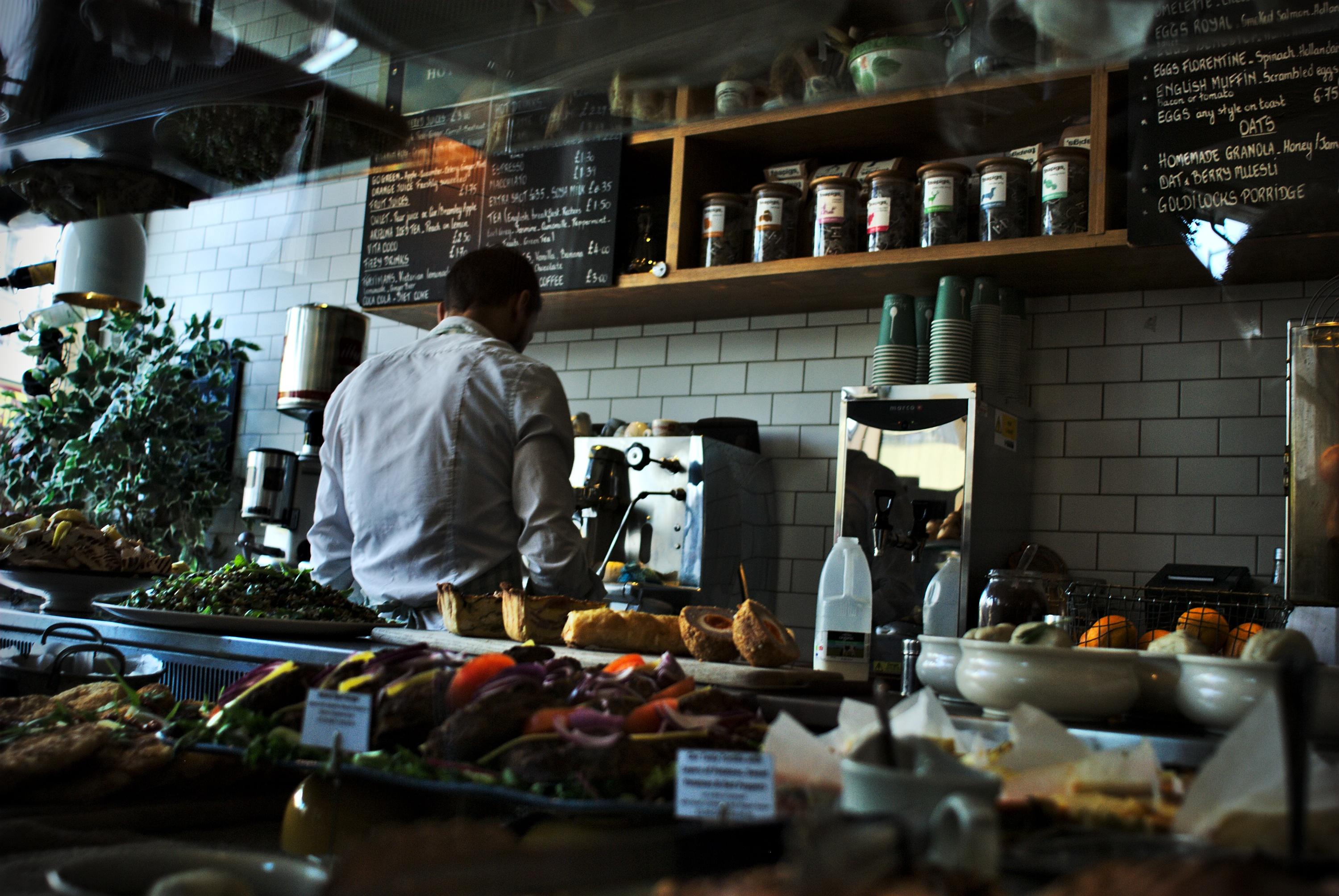Think Cirrus/hospitality/coffee shop and barista