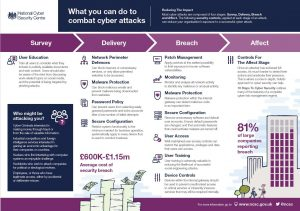 What can you do to combat cyber attacks?
