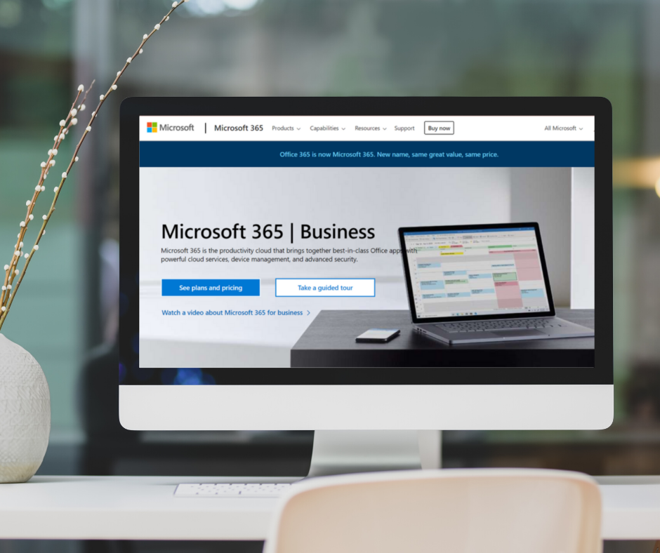 Microsoft 365 – an impressive range of features and benefits in one powerful subscription